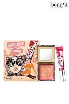 Benefit Hug Hug Hurray Galifornia Blush & Punch Pop Cherry Liquid Lip Colour Duo Set