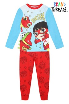 Brand Threads Red Ryan's World Boys Pyjamas