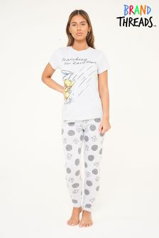 Brand Threads Disney - Winnie The Pooh Ladies Pyjamas