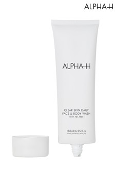 Alpha-H Clear Skin Daily Face & Body Wash 185ml