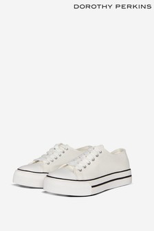 Dorothy Perkins White Ivana Trainer
