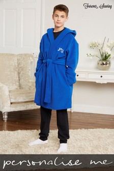 Personalised Junior/Teen Fleece Dressing Gown by Forever Sewing