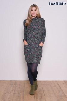 Brakeburn Ditsy Cowl Neck Dress