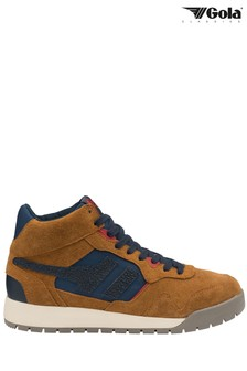 Gola Men's Camel Summit High Lace-Up High Trainers