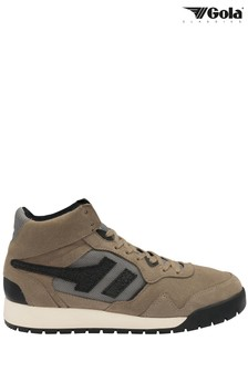 Gola Men's Brown Summit High Lace-Up High Trainers