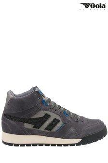 Gola Men's Grey Summit High Lace-Up High Trainers