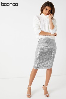 select for original best service hot-selling official Women's Skirts Silver Midi   Next Ireland