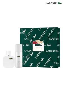Lacoste L.12.12 Blanc for Him Eau de Toilette 50ml Gift Set