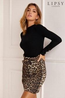 Multi  Lipsy Paperbag Skirt