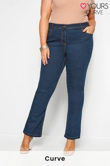 "Yours Curve 28"" Bootcut ISLA Jeans"