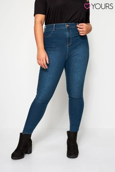 Yours Blue Curve 30 inch Skinny Stretch Ava Jeans