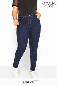 "Yours Curve 32"" Straight Leg RUBY Jeans"