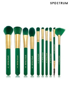 Spectrum Collections 10 Piece Malachite Brush Set