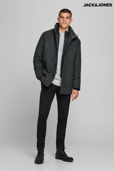 Jack & Jones Grey Harrington Jacket