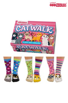 United Odd Socks Multicolored Catwalk Socks