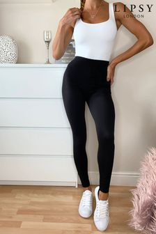 Lipsy Black Regular High Waist Legging