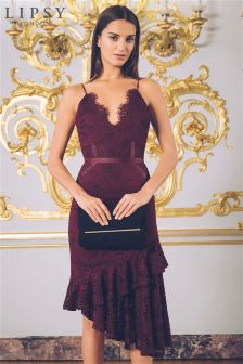 cheap prices quality products outlet store sale Women's Dresses Purple Lace Occasionwear   Next Ireland