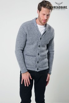 Threadbare Collared Cardigan
