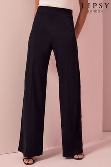 Lipsy Black High Waist Trousers