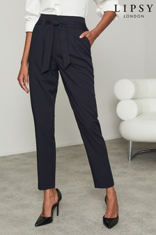 Lipsy Blue Lipsy Tapered Trouser