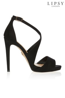 a6d33c610a682f Lipsy Cross Strap Concealed Platforms