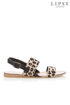6eb5138cd40455 Lipsy Leopard Print Sandal