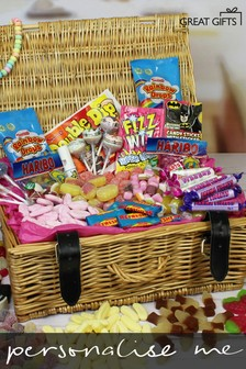 Personalised Retro Sweet Hamper By Great Gifts