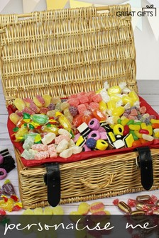 Personalised Old Fashioned Sweet Hamper By Great Gifts