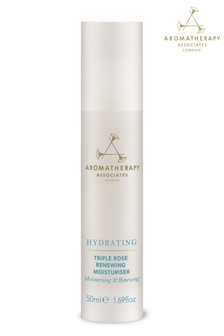 Aromatherapy Associates Hydrating Triple Rose Renewing Moisturiser 50ml