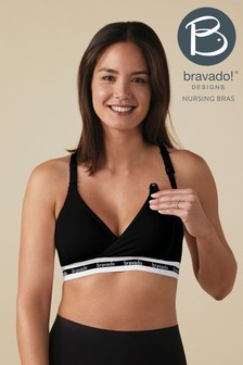 Bravado Black Original Nursing Bra
