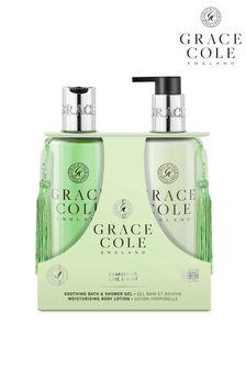 Grace Cole Grapefruit Lime  Mint 300ml Body Care Duo