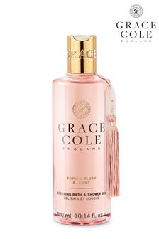 Grace Cole Vanilla Blush Peony Bath Shower Gel 300ml