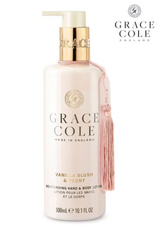 Grace Cole Vanilla Blush And Peony Hand Lotion 300ml