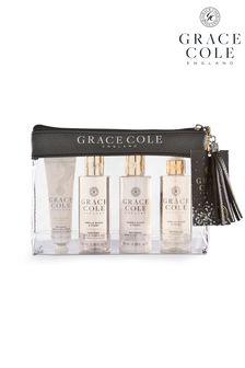 Grace Cole Vanilla Blush And Peony Travel Set