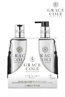 Grace Cole White Nectarine & Pear Body Care Duo