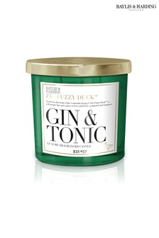 Baylis & Harding Fuzzy Duck Gin And Tonic Scented Luxury Double Wick Candle