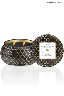 Baylis & Harding The Wash Company England Luxury Indian Ocean Breeze 2 Wick Candle