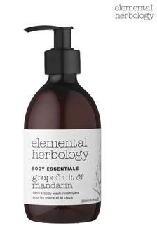 Elemental Herbology Grapefruit And Mandarin Body Wash 290ml