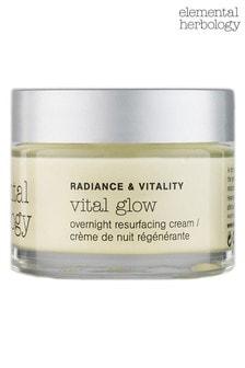 Elemental Herbology Vital Glow Overnight Resurfacing Cream 50ml