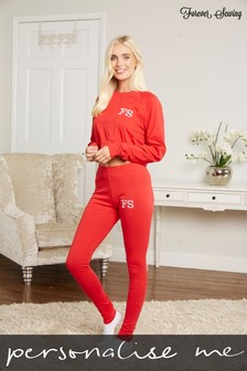 Personalised Crop Top and Leggings Set by Forever Sewing