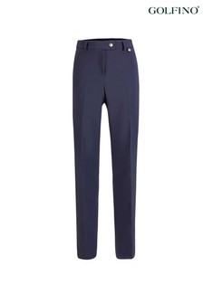 Golfino Blue Blossom 4-Way Stretch Ladies Trousers