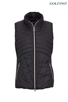 Golfino Black ST Blue Ladies Gilet