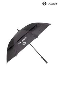 Fazer Black Dual Canopy Golf Umbrella