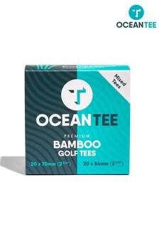 Ocean Tee Brown 54Mm & 70Mm Bamboo Tees - 40 Mixed Pack