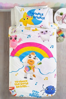 Little Baby Bum™ Rainbow Reversible Duvet Cover and Pillowcase Set