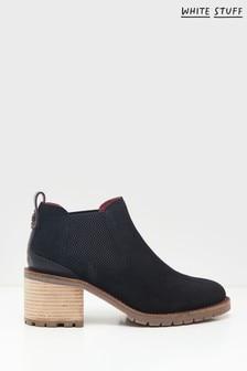 White Stuff Black Chelsea Shoe Boots
