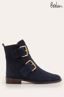 Boden Blue Cavenham Ankle Boots