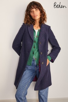 Boden Blue Knight Coat