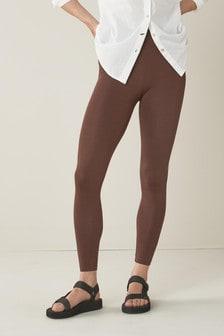 Chocolate Full Length Leggings