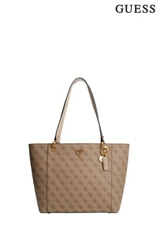 Guess Nude Logo Noelle Tote Bag